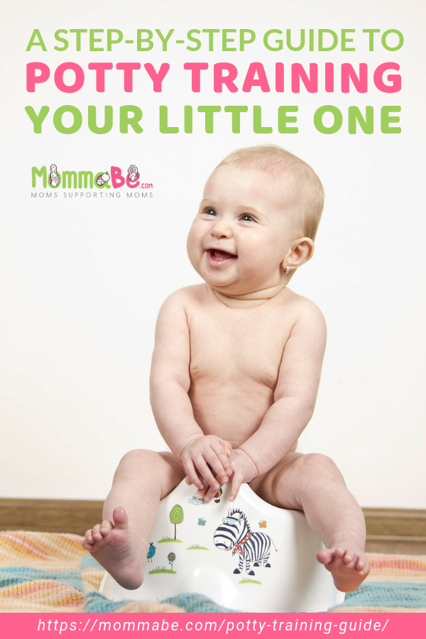 A Step-By-Step Guide To Potty Training Your Little One https://mommabe.com/potty-training-guide/