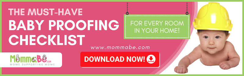 The Must-Have Baby Proofing Checklist For Every Room In Your Home! Download Now!