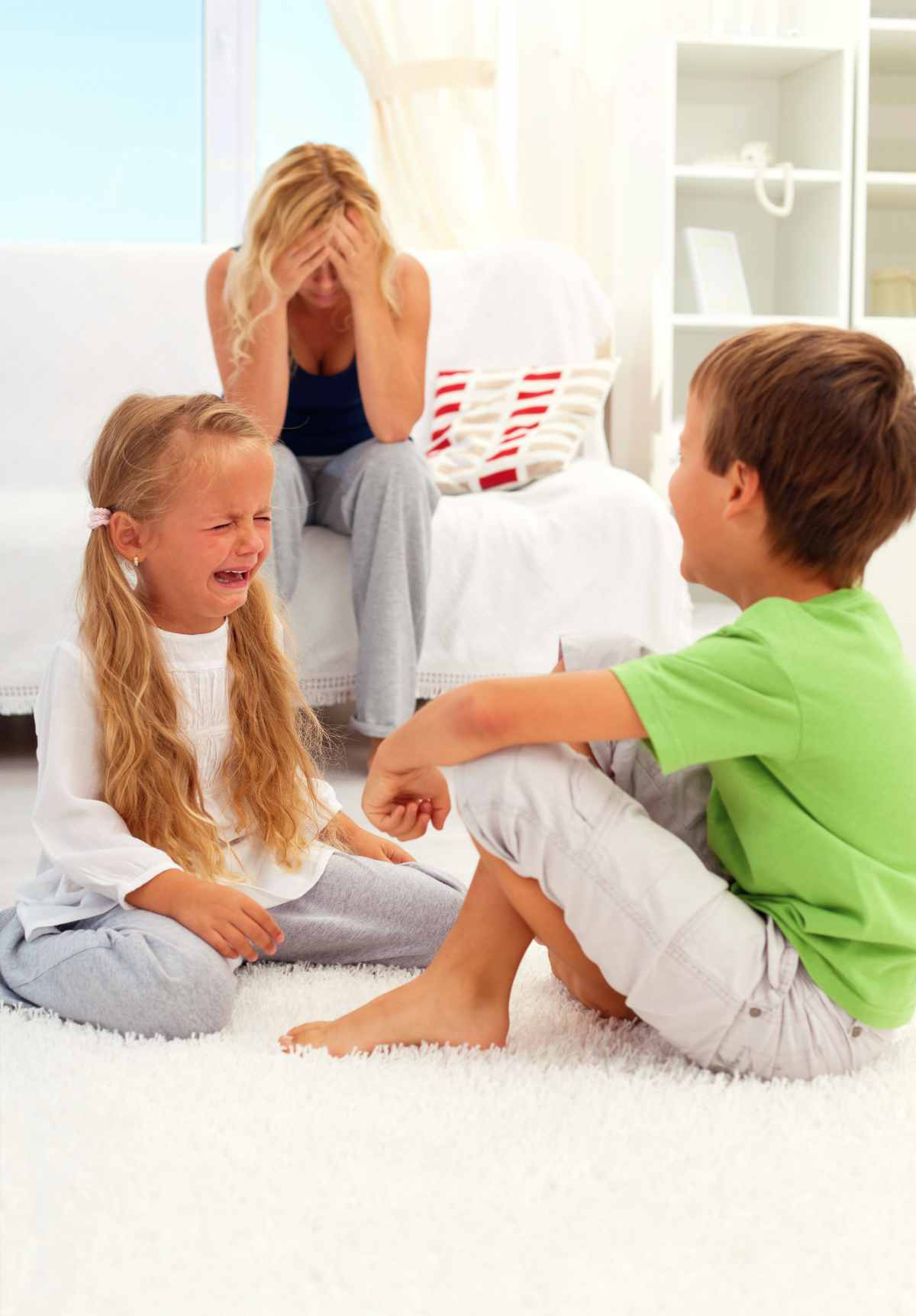 Kids Fighting and Crying | Spotting The Signs of Sibling Rivalry And How To Deal With It | sibling jealousy