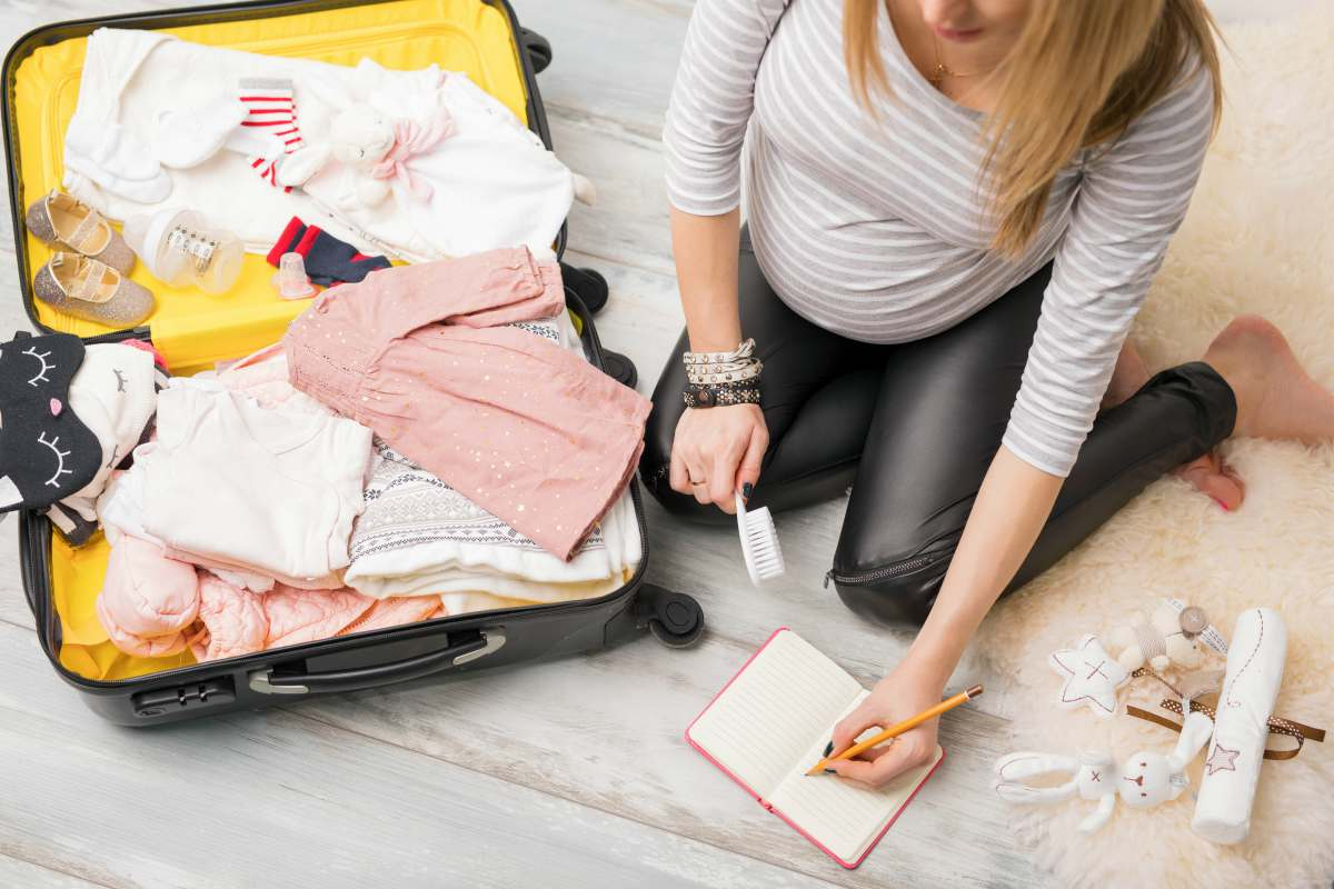 Packing Baby Needs | Signs You've Hit The Nesting Stage | nesting definition