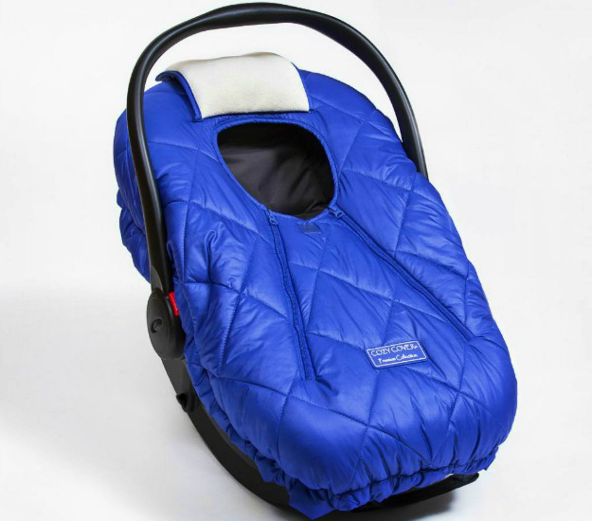 Blue Cozy Cover Premium Infant Car Seat Carrier Cover for baby | Christmas Gift Ideas For Dad | baby first christmas gift ideas