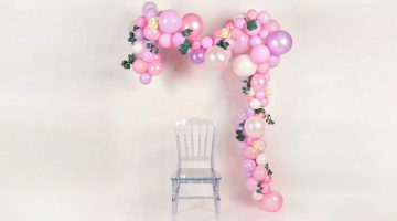 Feature | Pastel balloon garland | How To Make An Easy Balloon Garland For Parties